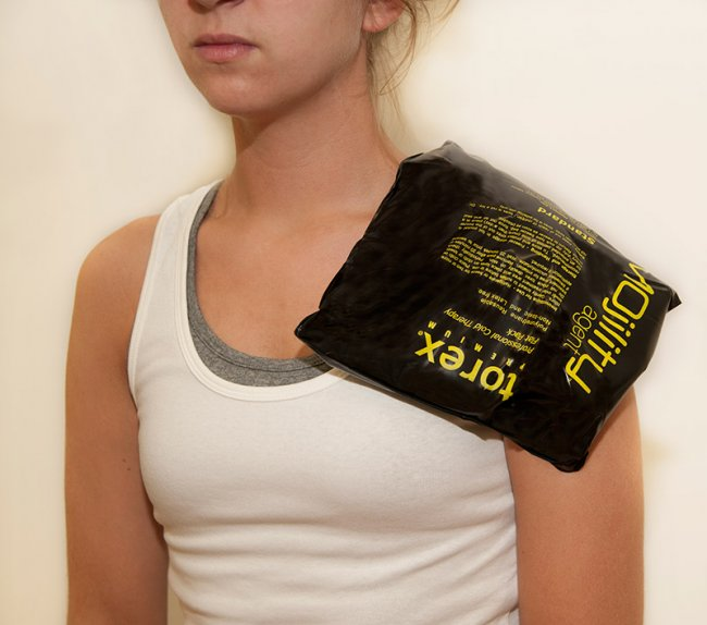 Photo of Standard Size Cold Therapy Black Packs