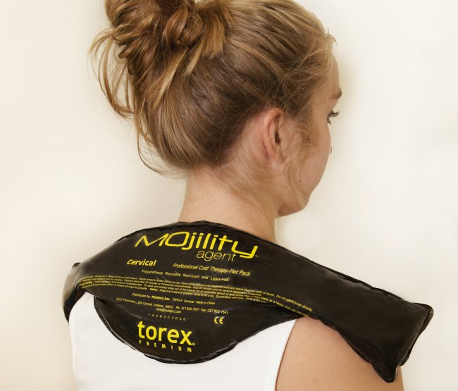 Photo of Cervical Cold Therapy Black Packs