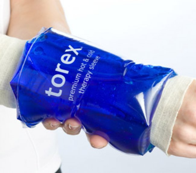 Photo of Hot/Cold Therapy Roll-On Sleeves - Small