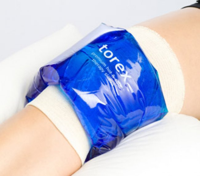 Photo of Hot/Cold Therapy Roll-On Sleeves - Large