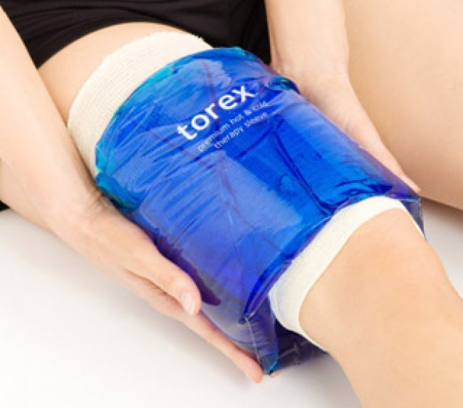 Photo of Hot/Cold Therapy Roll-On Sleeves - XLarge